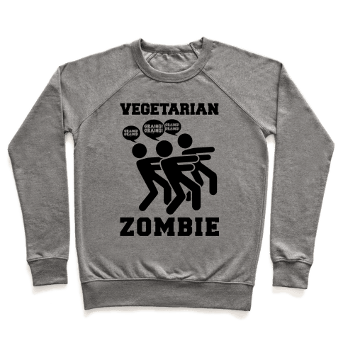 Vegetarian Zombie Pullover