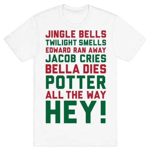 Jingle Bells Twilight Smells T-Shirt