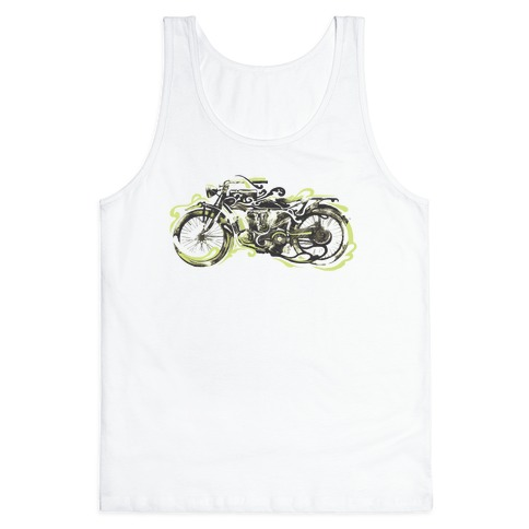 Vintage Motorbike Tank Top