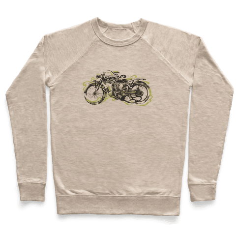 Vintage Motorbike Pullover