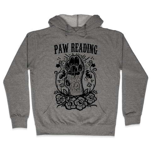 Paw Reading Hooded Sweatshirt