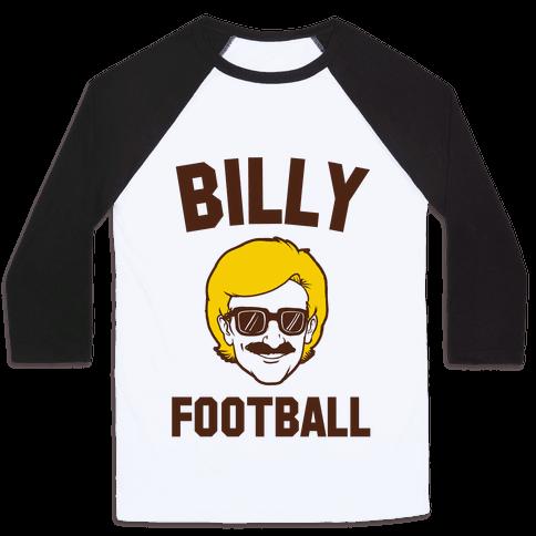 Billy Football Baseball Tee