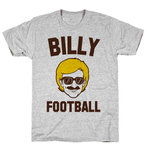 Billy Football Mens T-Shirt