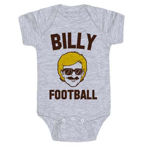 Billy Football Baby Onesy