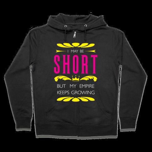 Short Girl Empire Zip Hoodie