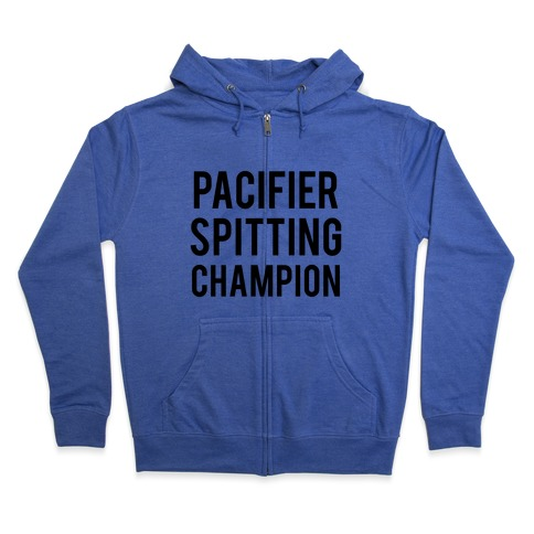 254fb8901 Pacifier Spitting Champion Hoodie   LookHUMAN