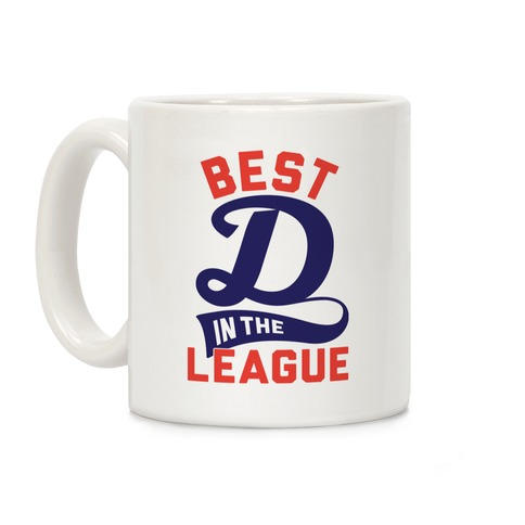 Best D In The League Coffee Mug