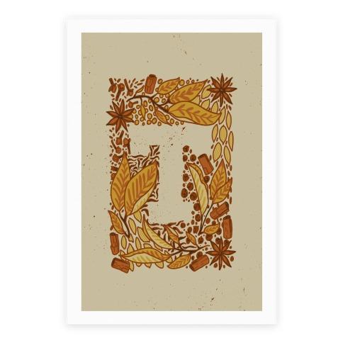 The Letter Tea Poster