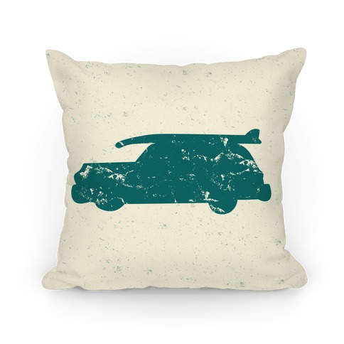 Surf Car Pillow