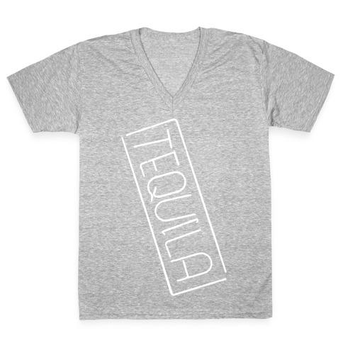Tequila V-Neck Tee Shirt