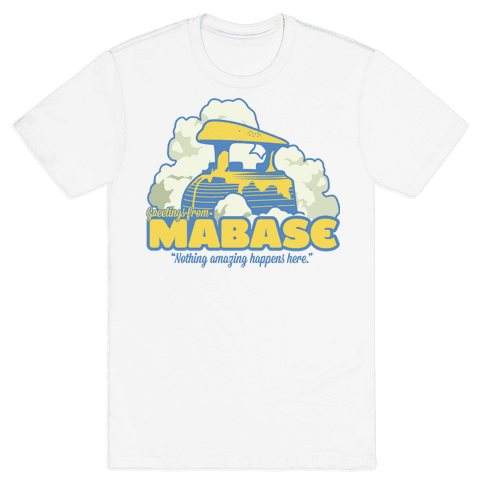 Greetings From Mabase Mens T-Shirt
