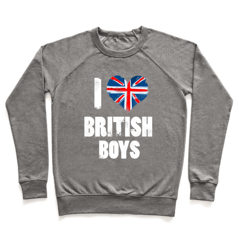 I (Heart) British Boys Pullover