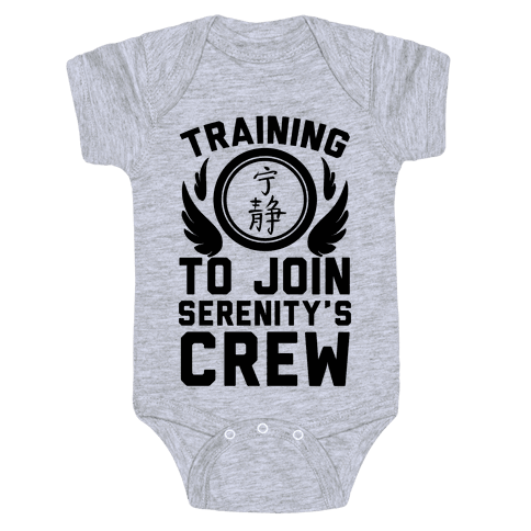 Training to Join Serenity's Crew Baby Onesy