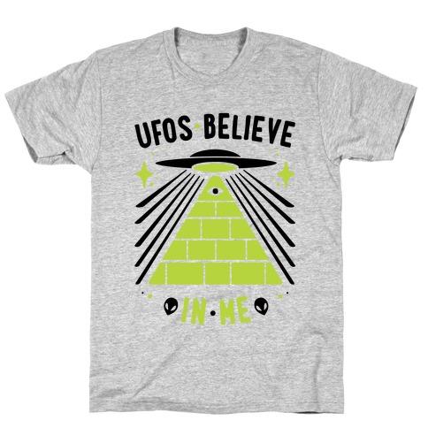 UFOS Believe In Me T-Shirt