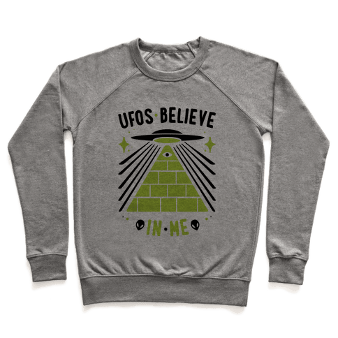 UFOS Believe In Me Pullover