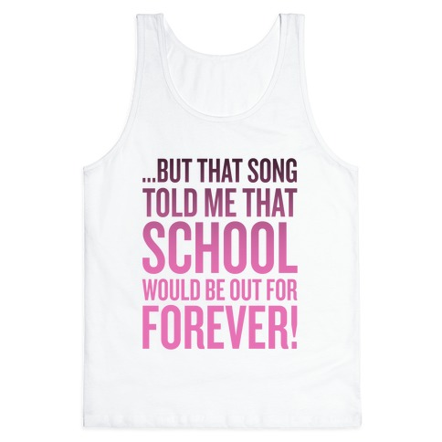 But That Song Told Me... Tank Top