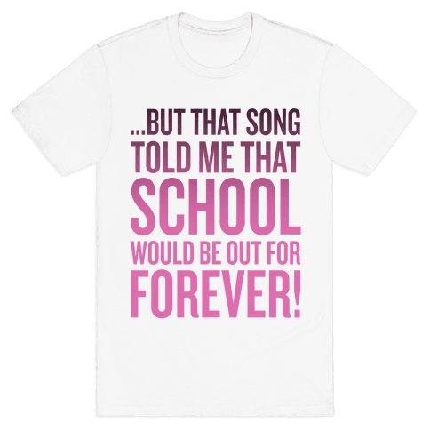 But That Song Told Me... Mens T-Shirt