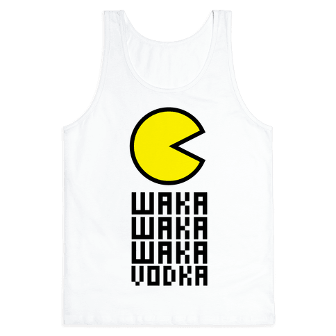 Vodka for Pacman Tank Top