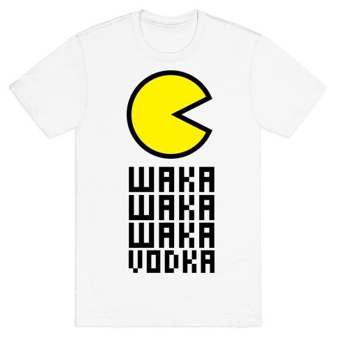 Vodka for Pacman Mens T-Shirt