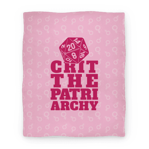 Crit The Patriarchy Blanket