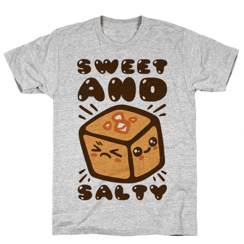 Sweet and Salty Mens T-Shirt