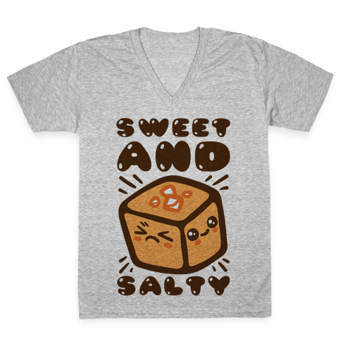 Sweet and Salty V-Neck Tee Shirt