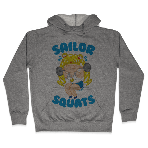 Sailor Squats Hooded Sweatshirt