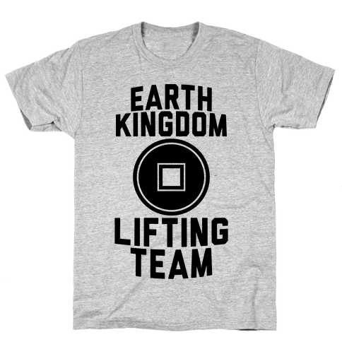 Earth Kingdom Lifting Team Mens T-Shirt
