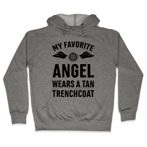 My Favorite Angel Hooded Sweatshirt