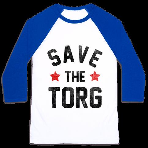Save the Torg Baseball Tee