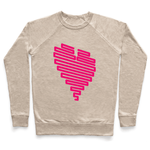 Neon Heart Pullover