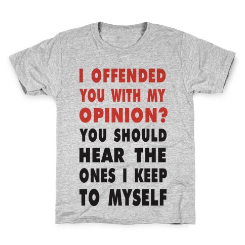 8c7d035d9 I Offended You (Tank) T-Shirt | LookHUMAN