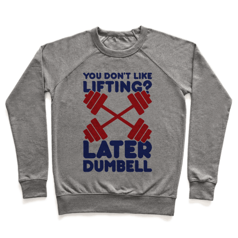 Later Dumbell Pullover