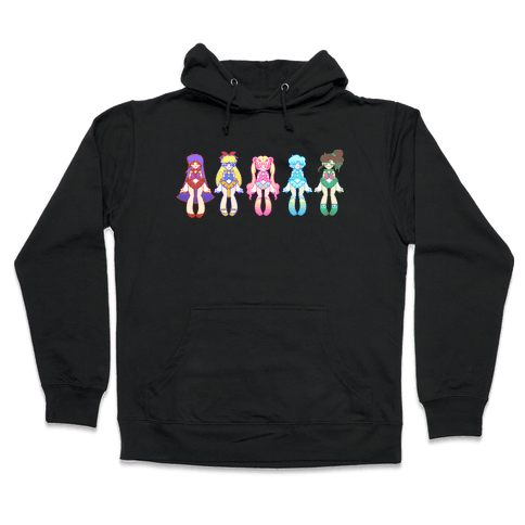 Pretty Guardians Hooded Sweatshirt