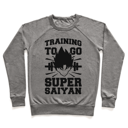Training to Go Super Saiyan (black) Pullover