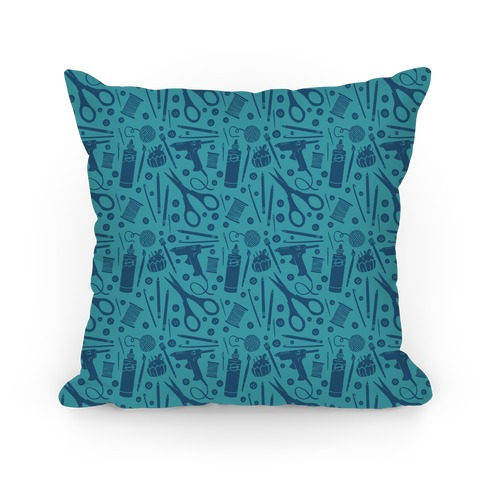 Crafty Pattern Pillow