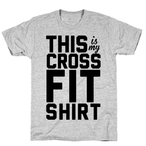 This Is My Crossfit Shirt Mens T-Shirt