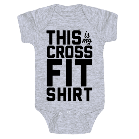This Is My Crossfit Shirt Baby Onesy