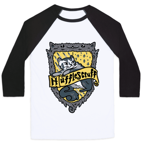 House Cats Hufflescruff Baseball Tee