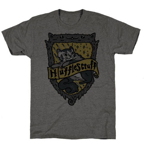 House Cats Hufflescruff Mens T-Shirt