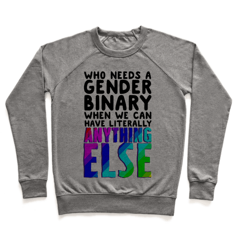 Why Gender Binary Pullover