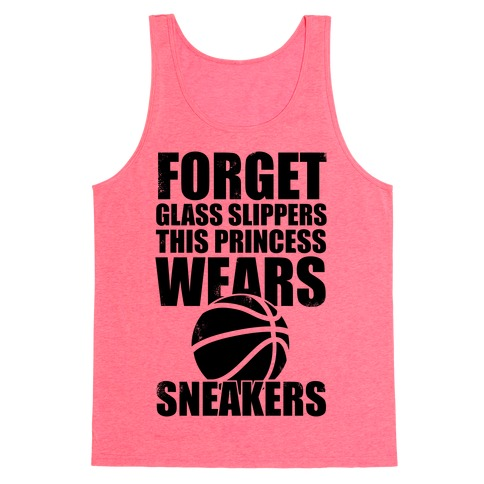 This Princess Wears Sneakers (Basketball) Tank Top