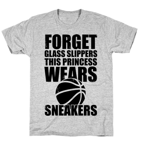 This Princess Wears Sneakers (Basketball) T-Shirt