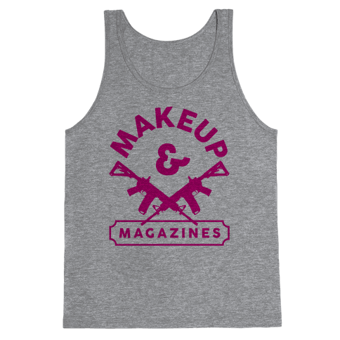 Makeup And Magazines Tank Top