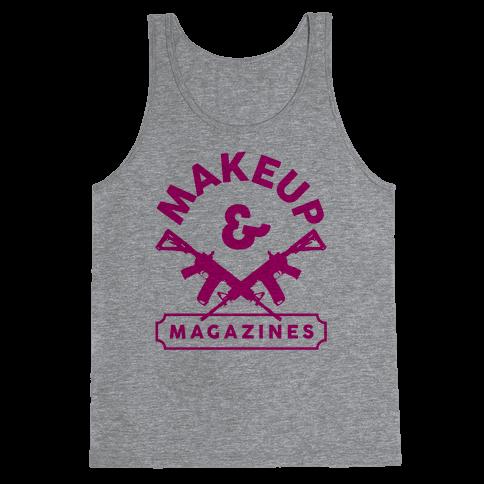 Makeup And Magazines Tank Top