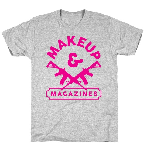Makeup And Magazines T-Shirt