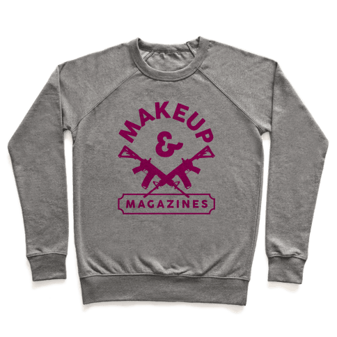 Makeup And Magazines Pullover