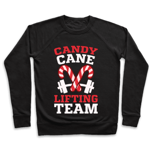Candy Cane Lifting Team Pullover