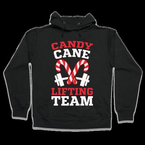 Candy Cane Lifting Team Hooded Sweatshirt