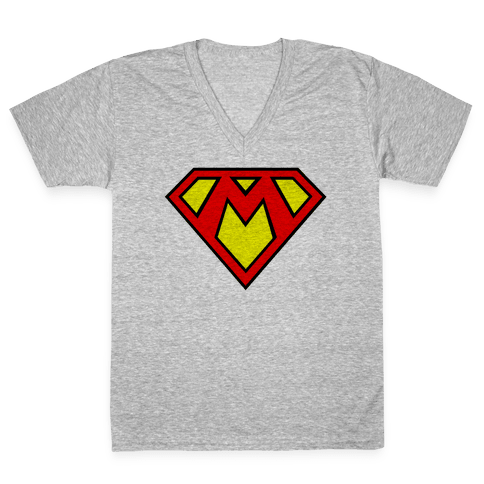 Super Bros. V-Neck Tee Shirt